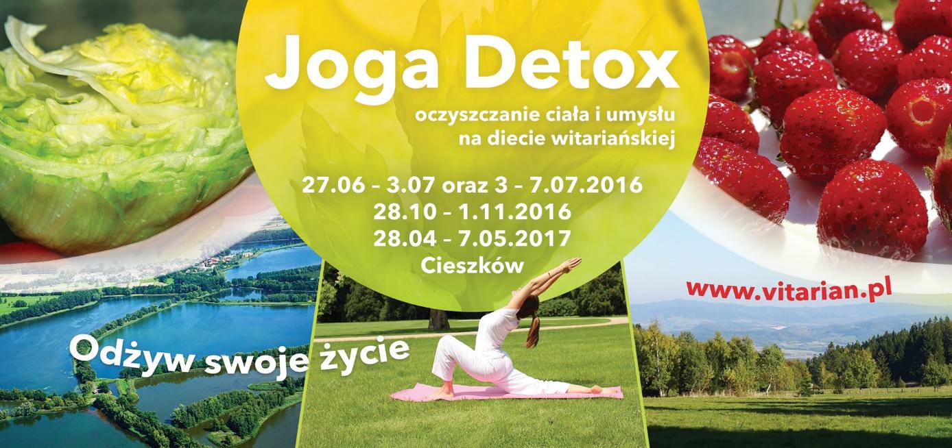 JOGA DETOX Majówka 3.05.2017 – 7.05.2017